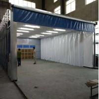 大型无尘喷漆房,移动伸缩喷漆房,多用途伸缩房