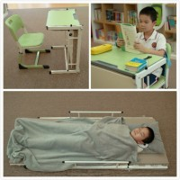 学生课桌椅选哪种好?推荐这款桌床两用的课桌