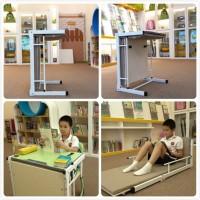 江苏学生课桌椅批发 折叠两用课桌椅 厂家直销
