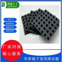 郑州2.5公分20mm排水板车库滤水板