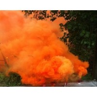 秋季火灾预防演练用彩色发烟罐 消防演习用多色烟雾罐拉环式